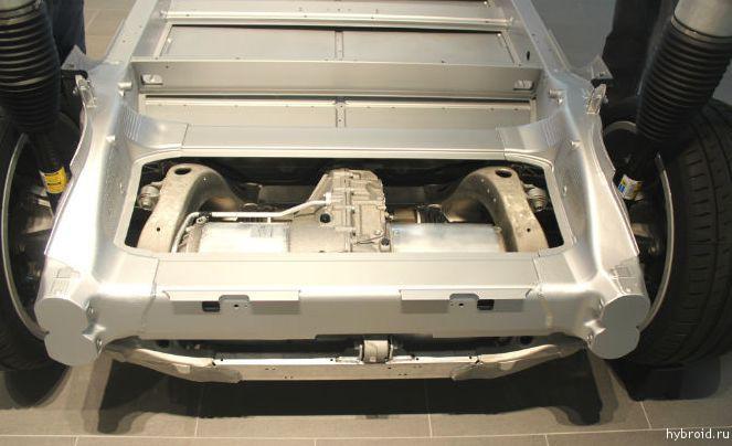 Электродвигатель Tesla Model S