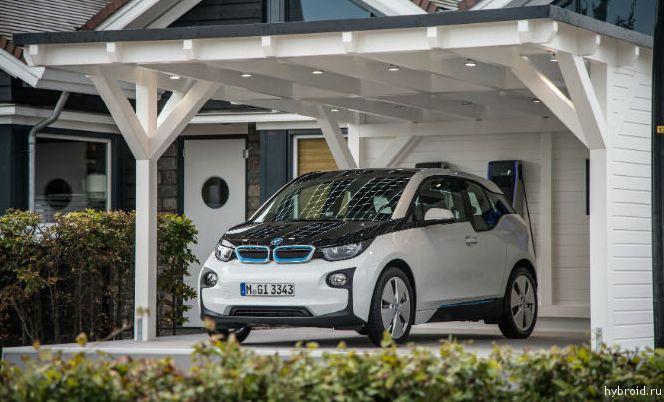 BMW i3 признан автомобилем года в Великобритании