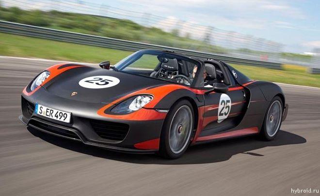 Porsche 919 Hybrid скоро в Женеве