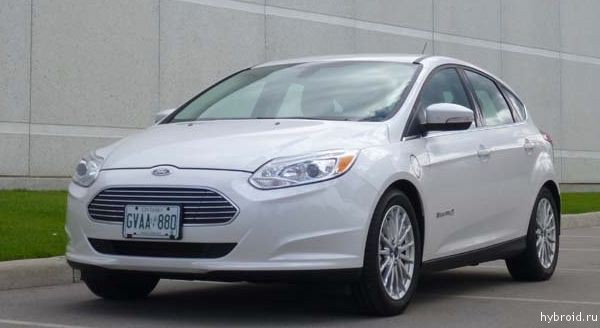 Обзор Ford Focus Electric 2014