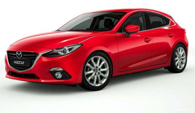Награда Red Dot Award для Mazda3