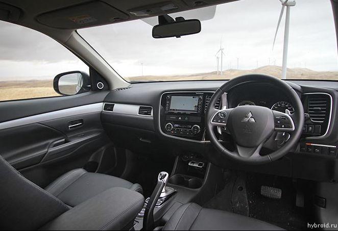 Приборная панель Mitsubishi Outlander Hybrid