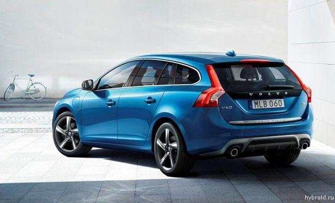 Дизельно-гибридный автомобиль Volvo V60