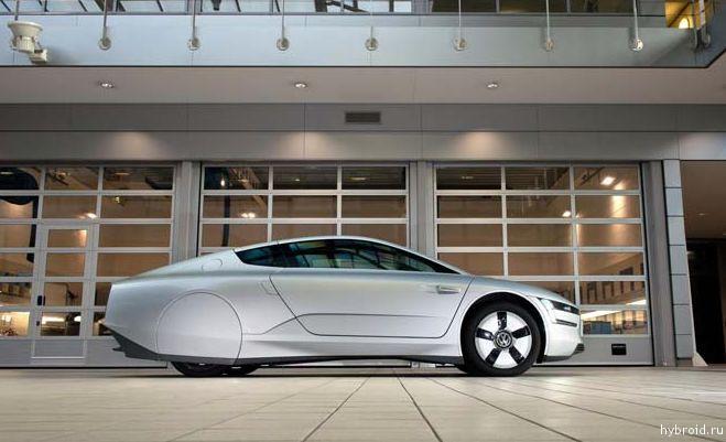 VW XL1 получает звание «Лучший дизайн года»