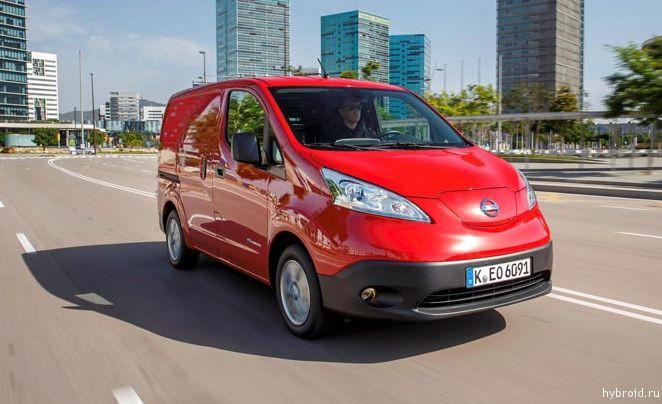 Nissan e-NV200 теперь в Европе