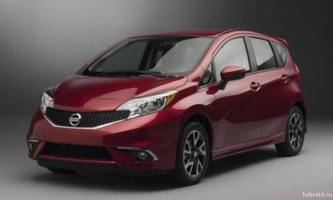 Nissan Versa Note 2015 стартует с 14, 180$