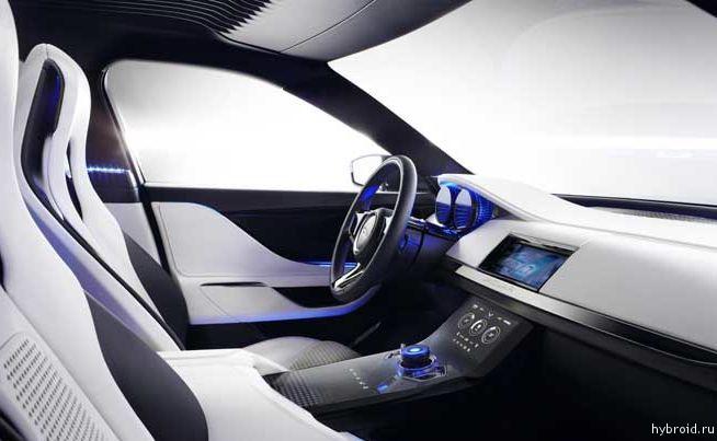 Концепт Jaguar C-X17