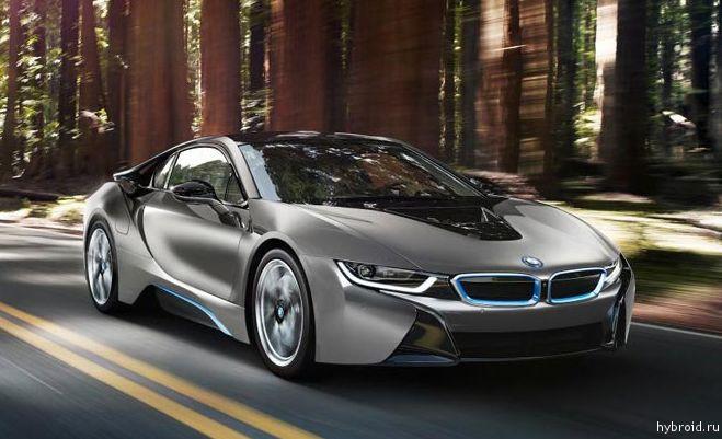 Создана уникальная модель BMW i8 Concours d'Elegance
