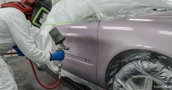 Как самому покрасить машину