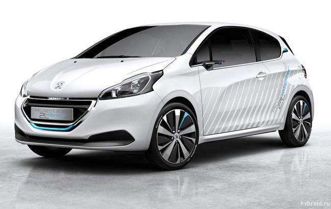 Peugeot представит 208 HYbrid Air 2L