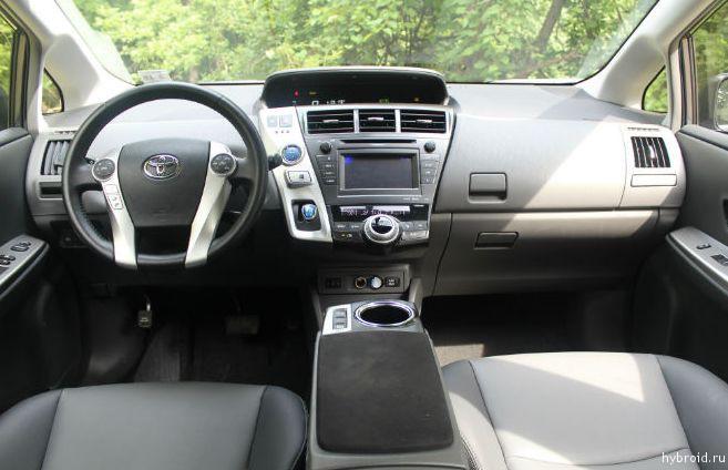 Toyota Prius V 08