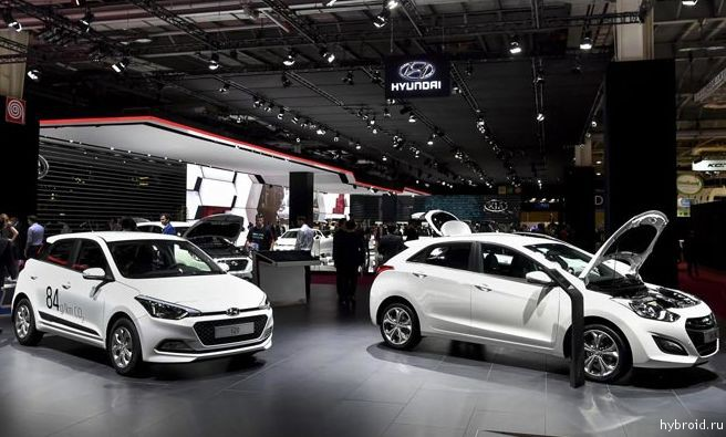 Hyundai представит «зеленый» автомобиль в Париже