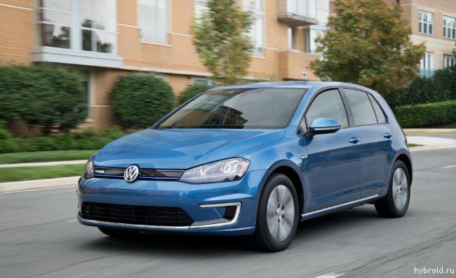Первый VW e-Golf в США выставлен на торги
