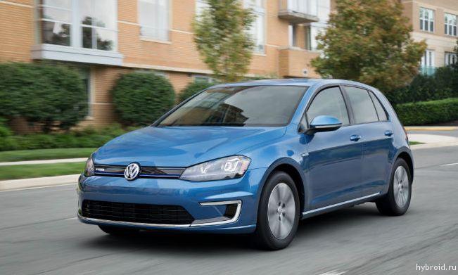 Расход 2,03 литра на 100 км при смешанном цикле от VW e-Golf