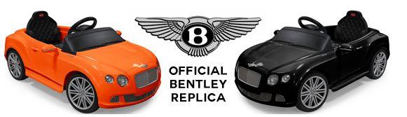 Спортивный детский электромобиль Bentley Continental 12V