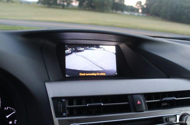 Камера заднего вида на Lexus RX 450h