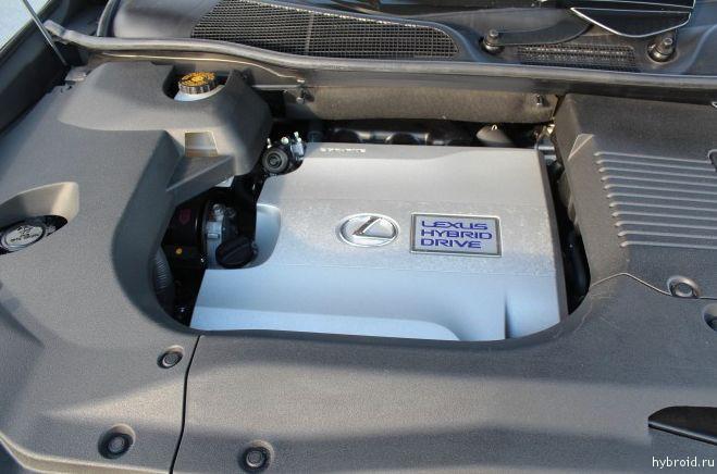 Двигатель Lexus Hybrid Drive