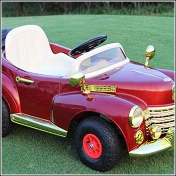 Ретро электромобиль Bentley e999kx для детей