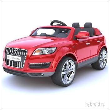 Электрический джип Audi Q7 для ребенка