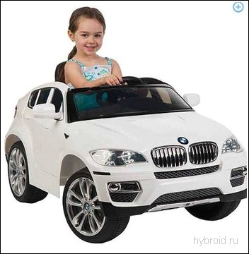 Джип BMW X6 для ребенка электрический