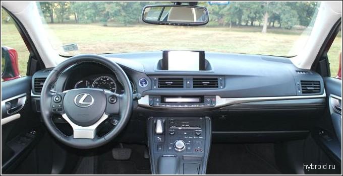 Внешний вид Lexus CT200h
