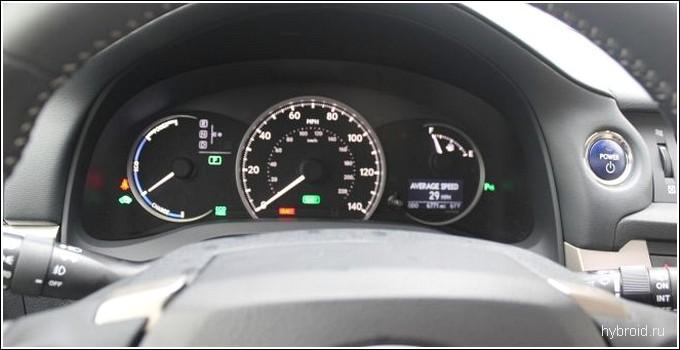 Приборная панель Lexus CT200H