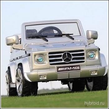 Джип электрический Mercedes-Benz G55 AMG для ребенка