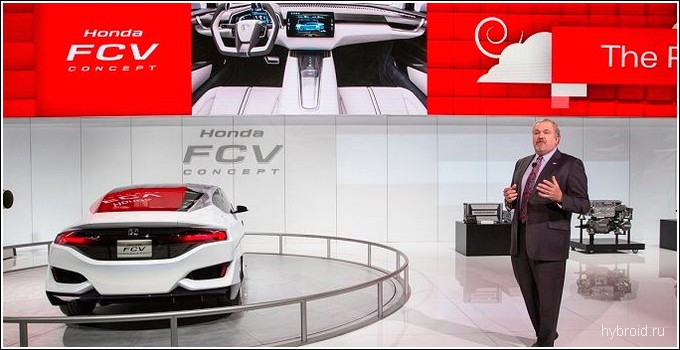 Концепт HondaJet от компании Honda