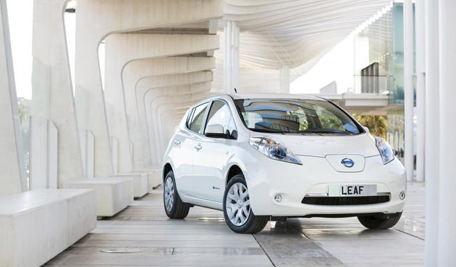 Nissan Leaf вернет энергию назад в электросеть
