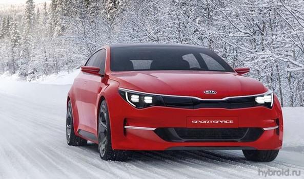 Kia представила гибридный концепт-кар Sportspace