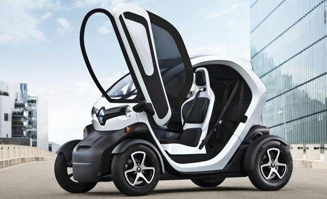 Renault Twizy EV автомобиль для детей с 14 лет