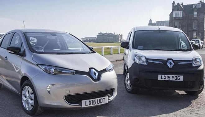E-Car Club выбирает Renault
