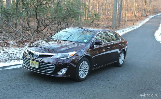 Тест-драйв гибридной версии Toyota Avalon 2015 года