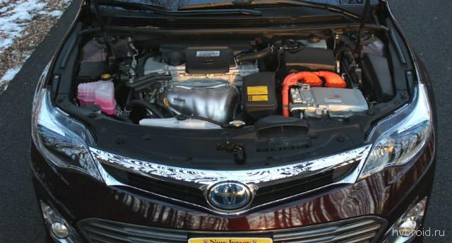 Под капотом Toyota Avalon гибрид