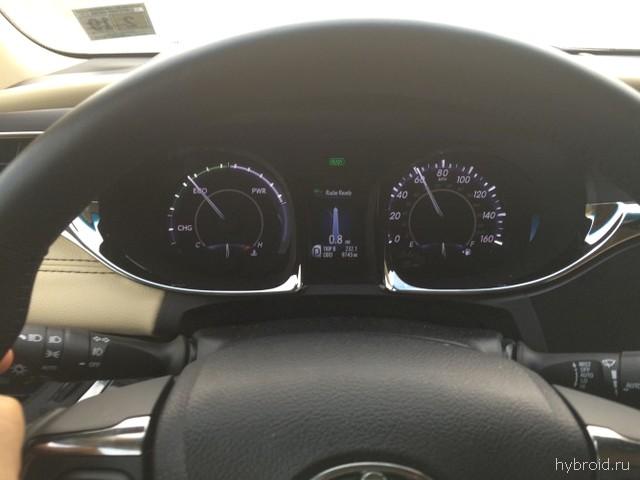 Управление в Toyota Avalon hybrid 2015