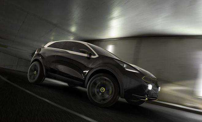Kia Niro Hybrid засекли в Нюрбургринге