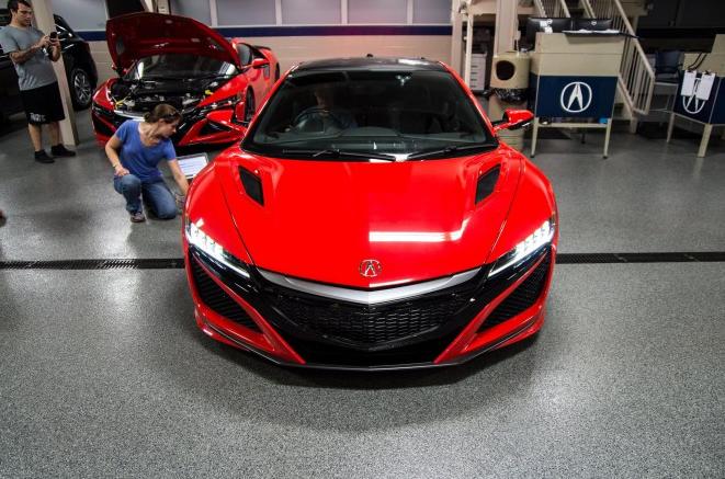 Новый Acura NSX 2016