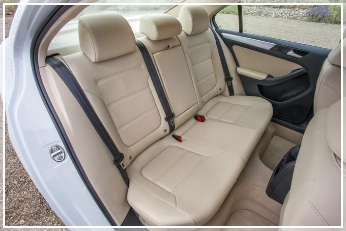 Задние сидения VW Jetta Hybrid