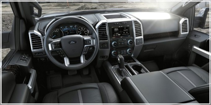 Приборная панель Ford F-150 Hybrid