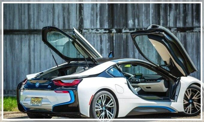Новый электромобиль от BMW модель i8