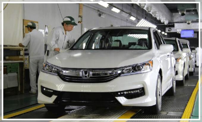 Производство Accord Hybrid