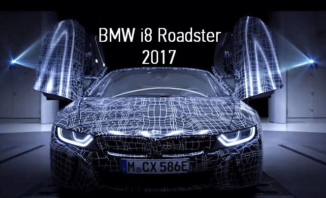 BMW выпустили тизер к выходу экспериментального i8 Roadster