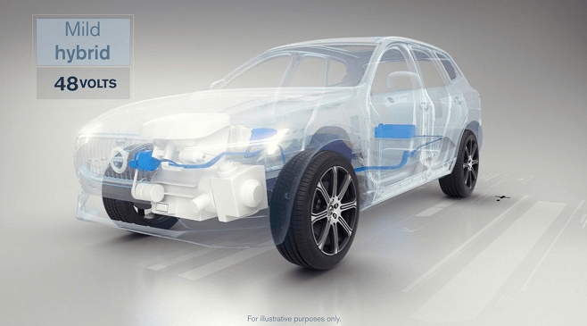Volvo Cars электрификация автомобилей