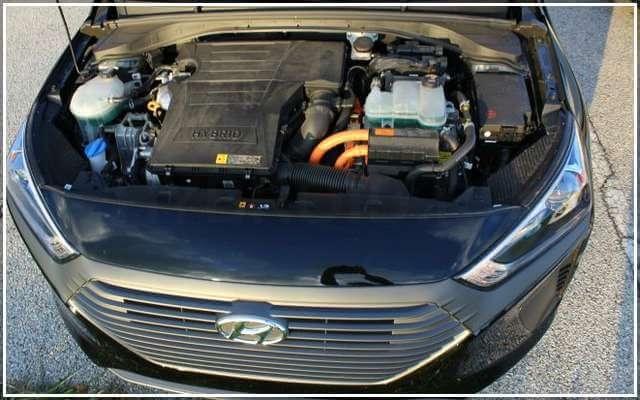 Двигатель Hyundai Ioniq Hybrid 2018