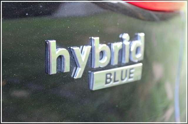 Hybrid blue - Хендай Ионик 2018 года