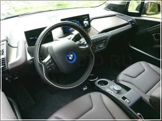 Экстерьер электромобиля BMW i3