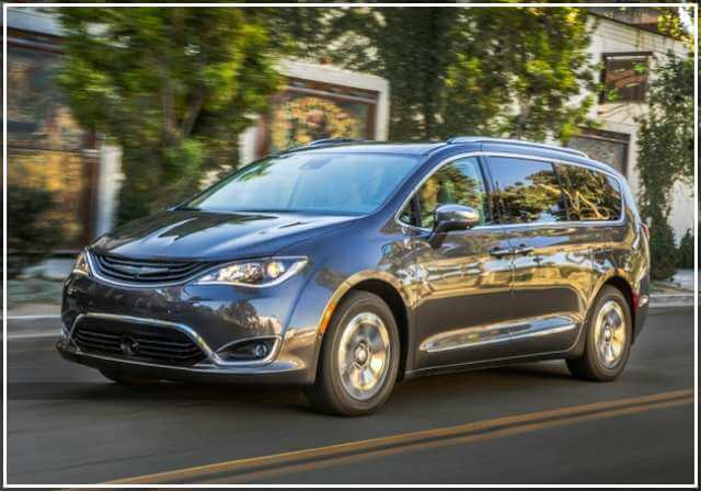 Тест-драйв Chrysler Pacifica hybrid 2018