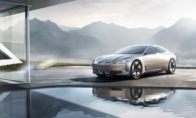 Компьютерная визуализация серийной BMW i4