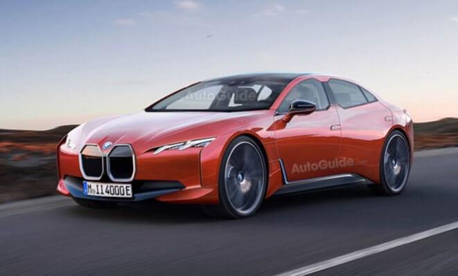 Как будет выглядеть электромобиль BMW i4