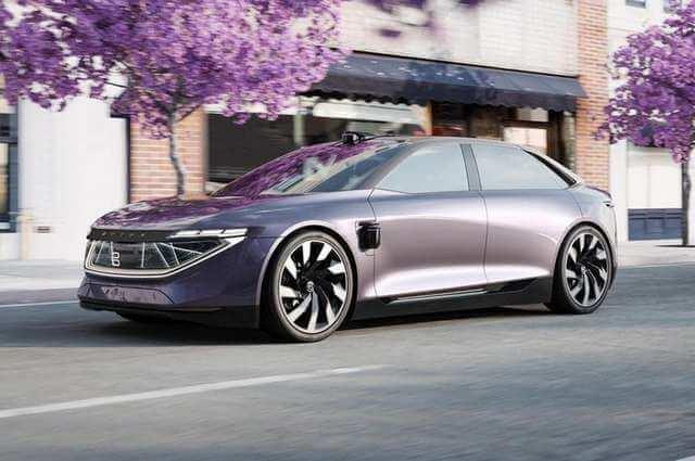 Концепткар Byton K-Byte – красивый электромобиль из Китая